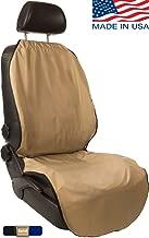 CleanRide: Odor-Resistant, 100% Waterproof Car Seat Cover (Beige)