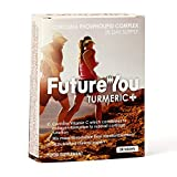 Turmeric+ | Turmeric Tablets from FutureYou | 28 Easily Absorbed Tablets | Highly Bioavailable Formulation | 500mg Curcuma Phospholipid Complex | Meriva Advanced Turmeric Formulation
