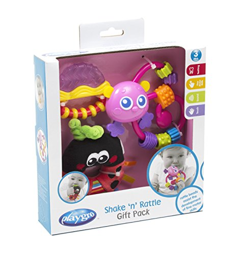 Playgro Shake 'n' Rattle Baby Gift Pack - Pink