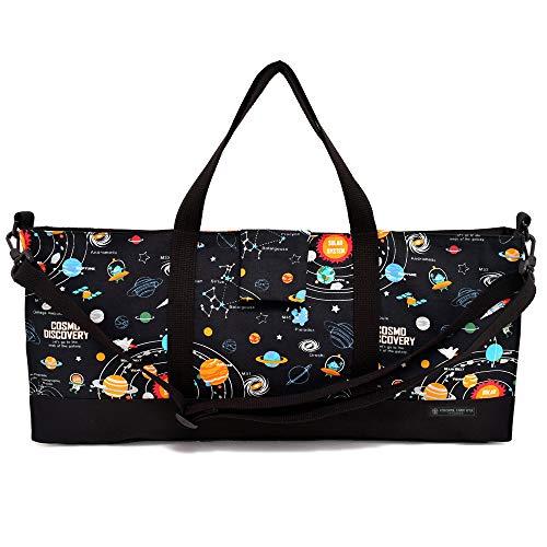 ピアニカケース スタンダード 鍵盤ハーモニカ バッグ 袋 太陽系惑星とコスモプラネタリウム(ブラック) N4329100