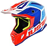 Just 1 Helmets J38 Blade Small Blue-Red-White