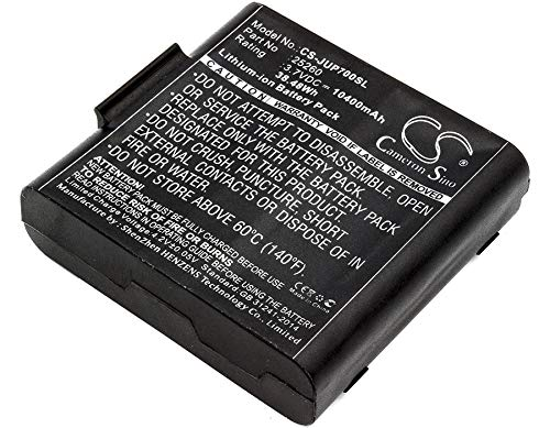Battery Replacement for Sokkia SHC5000 25260 Record -  RECORDCS-JUP700SL_112