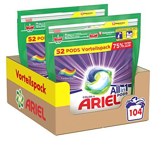 Ariel All-in-1 PODS Color-Farbschutz – 104Waschladungen