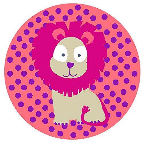 Laessig 1210003717 Wildlife Leone Tovagliette in Silicone per Bambini