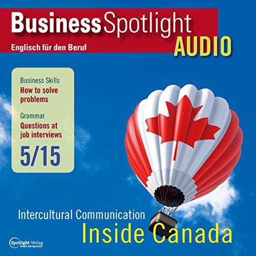 Business Spotlight Audio - How to solve problems. 5/2015 Titelbild