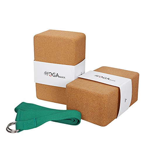 JBM Cork Yoga Block