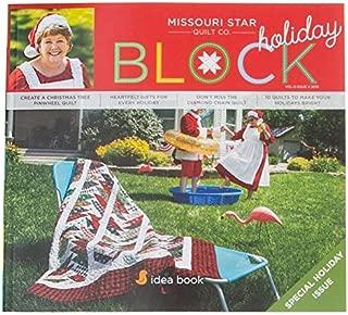Missouri Star Block Quilt Magazine~ 2019 Vol 6#4 Holiday Issue