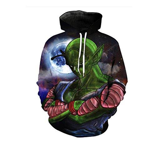 Harry Shops Halloween Holiday Dragon Ball BIK Costume Hoodie-Male-XXX-Large