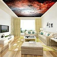 Hxcok 空の天井の装飾壁紙現代の家の装飾3Dスペーススター写真壁紙壁画は厚く-150x120CM