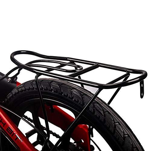 RIT Bit RT730 e-Bike Pieghevole da 20 Pollici, Bici elettrica, Batteria al Litio da 250w * 8ah, Telaio in Lega di Alluminio MTB, ammortizzatori Completi simano 7 velocità con Opzione acceleratore