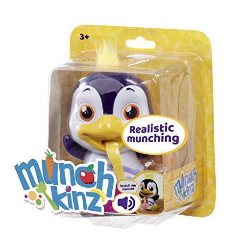 Munchkinz GE11604 Interaktiver Haustier-Pinguin mit über 30 Geräuschen und realistischen Fressbewegungen, Multi