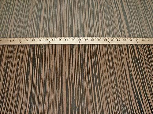 1 Pc of Macassar security Ebony Composite Wood x no 24
