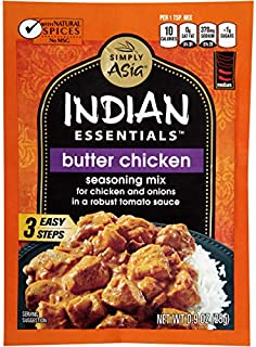 Simply Asia Indian Essentials Seasoning Mix Butter Chicken -- 0.9 oz - 2 pc