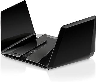 Netgear RAX200-100EUS Nighthawk AX12 12-Stream Wifi 6 Router (RAX200) - AX11000 Tri-Band Wireless Speed (Up to 10.8 Gbps),...