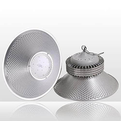 ZJING LED High Bay Light 200W, 6000K, 22000Lm Reemplazo para 600W HID/Hps, UFO High Bay Light Fixture, LED Shop Lights Almacén Comercial Taller Garaje Factory Lowbay Area Lightbay,150w