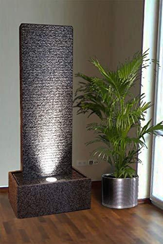 Troester\'s Brunnenwelt Zimmerbrunnen Wasserwand \'Touch of Grey\'