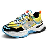 Men Fashion Sneakers Sport Running Shoes Walking Casual Athletic Shoes Skateboard Vogue (3,9)