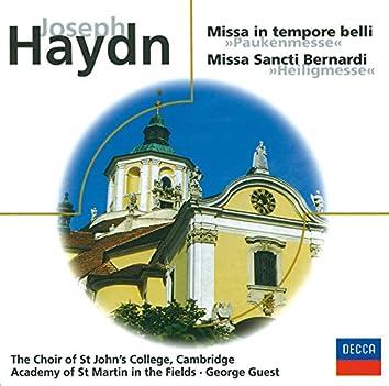 "J. Haydn: ""Paukenmesse"" & ""Heiligmesse"""