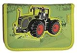 Traktor Federtasche gefüllt Federmäppchen Stifte Etui Federmappe Bulldog Trecker