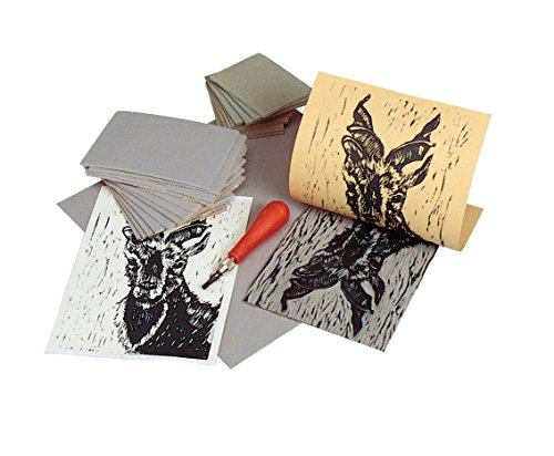 "Red Baron Unmounted Linoleum Block Size: 0.12"" H x 10"" W x 8"" D Gray"