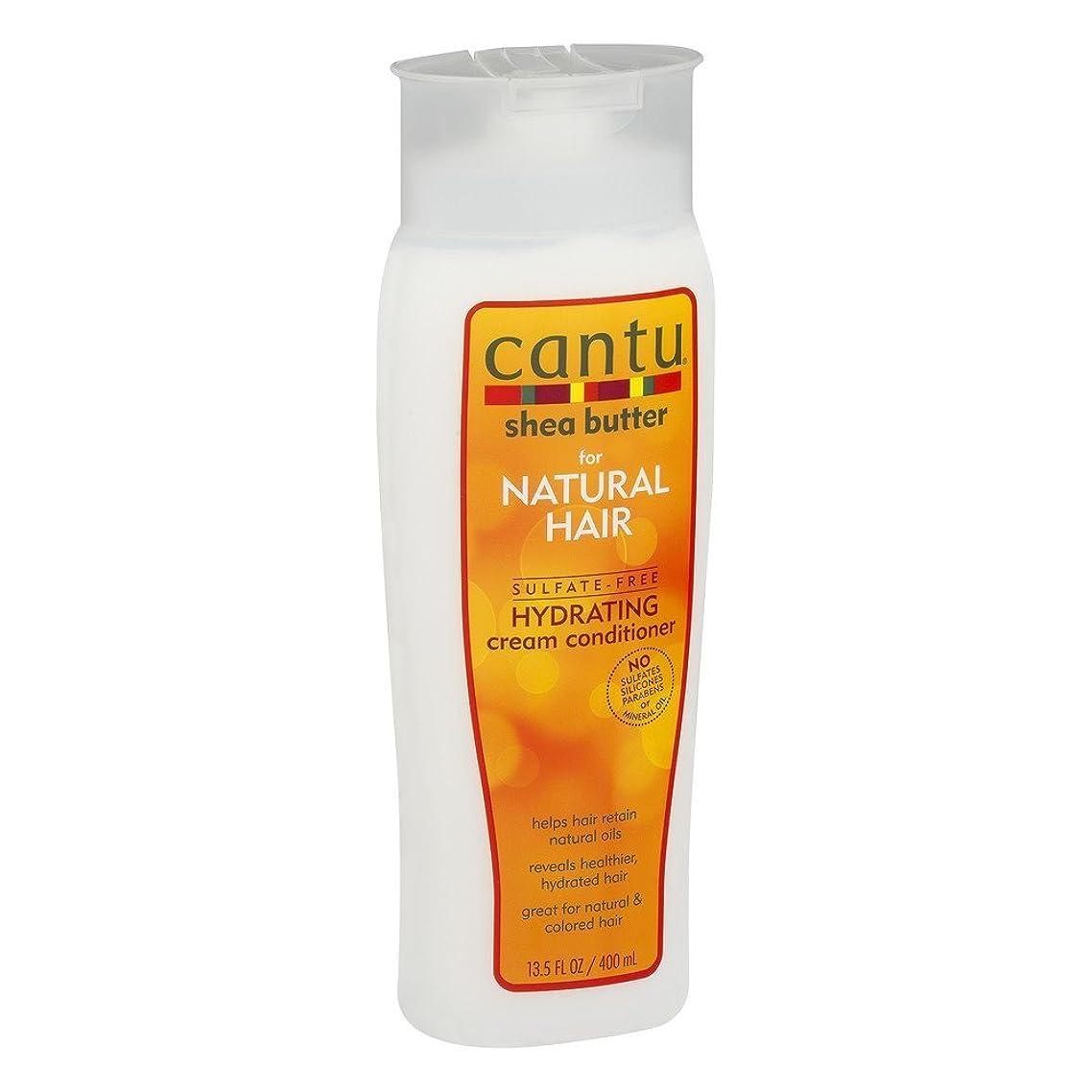 ドル娘水素Cantu ナチュラルヘアコンディショナーハイド(硫酸フリー)13.5オンス(399Ml)(3パック)