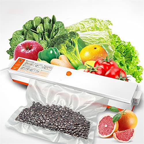 SCYMYBH Máquina de sellador de vacío Máquina de envasado al vacío Cocina doméstica Máquina de Sellado de vacío automático Mini Máquina de preservación de la máquina de Sellado de plástico pequ