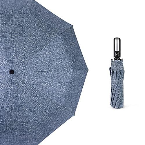 Ombrello da viaggio antivento Ombrelloni, ampie dimensioni completamente automatiche, pieghevoli, doppie piogge e sole, protezione solare, UV. Protezione, ombrelloni, ombrelloni, uomini e donne. Ombre