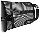BOD Lumbar Mesh Back Support - Bring Comfort to an Office Chair, Car, and Truck Seat Lower Back Pain Relief Behind Your Desk for All Day Pillow Like Comfort