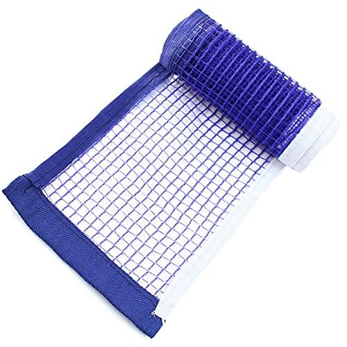 OUUUKL 2 Pcs Tischtennisnetz, Ping Pong Netz 180 * 15 cm Ersatznetz Nylon Tischtennisnetz, Ersatz-Netz für Tischtennisplatten (Schwarz/Grün/Blau)