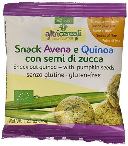 Probios Snack Avena e Quinoa, con Semi di Zucca - 35 gr