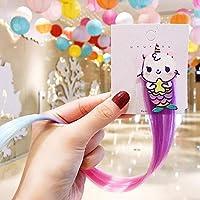 子供服のための甘いヘアピンヘアバンドユニコーン髪ピンセット王女の付属品のためのキュートなヘアアクセサリーかつらアクセサリー髪の色,17