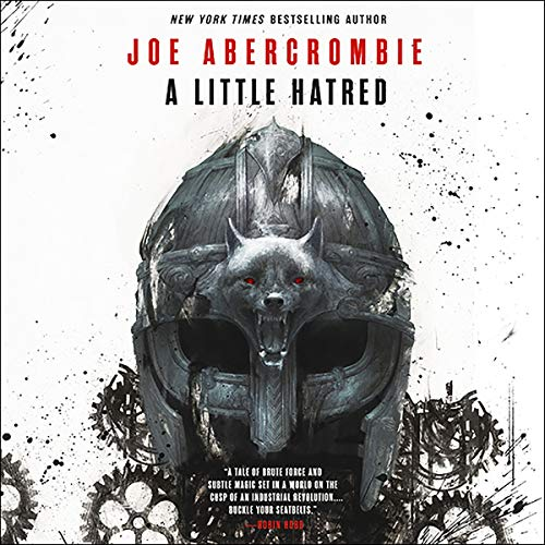 A Little Hatred audiobook cover art