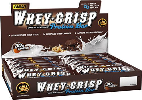 All Stars Whey-Crisp Bar, Chocolate, 24er Pack (24 x 50 g)