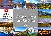 Schoene Gruesse aus Radstadt (Wandkalender 2022 DIN A3 quer): Impressionen von Radstadt im oberen Ennstal (Monatskalender, 14 Seiten )