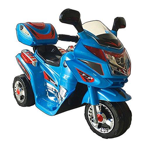 kidfun Moto Elettrica per Bambini 6V Blu