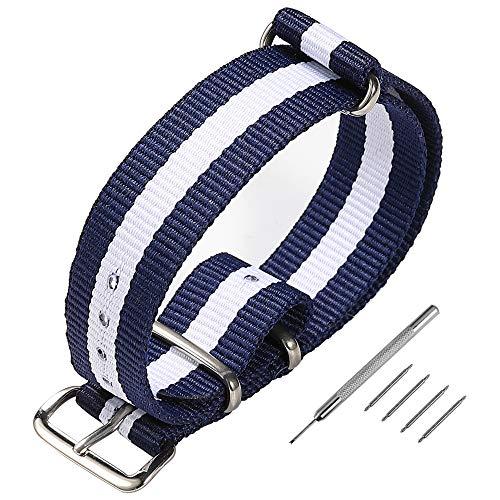 Cinturino orologio NATO, cinturini cinturini in nylon cinturino Zulu...