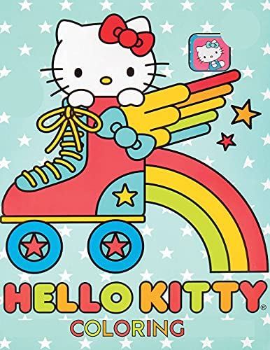 Hello Kitty Coloring Book: 100 Pages Coloring Book For Kids & Friends To...