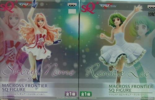 Macross F SQ Figure - Sheryl Nome and Ranka Lee - Set of 2 Special Quality (japan import)