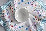Maison d' Hermine Flower in The Field 100% Baumwolle Weiches und bequemes 4er-Set Servietten Perfekt für Familienessen | Hochzeiten | Cocktail | Küche | Startseite | Frühling/Sommer (45 cm x 45 cm) - 8