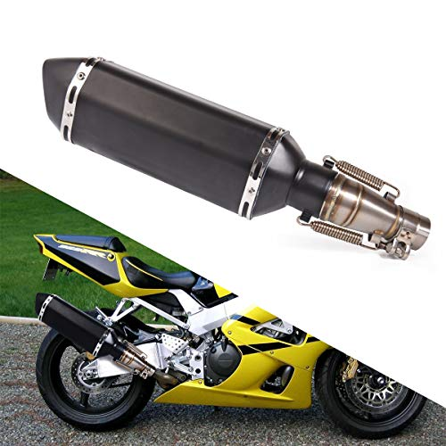 Motorcycle Slip on Exhaust system With Muffler Compatible With Kawasaki ninja 250 300 Z300 Z250 2008-2017