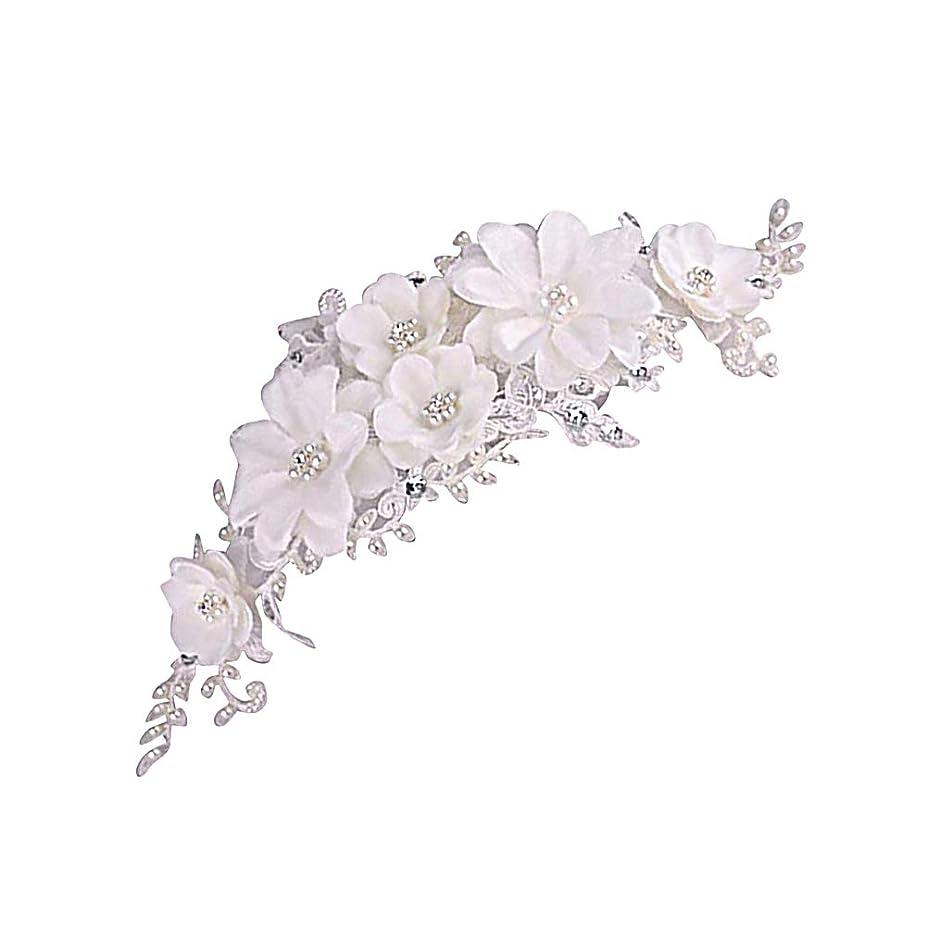 チャンピオンシップわかりやすい海里Snner お花とパールでかれんな花嫁 ウェディング ヘッドドレス パールアクセサリー セット 和装にも