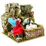 Pastore per Presepe in Movimento 17 cm x 17 cm La Lavandaia