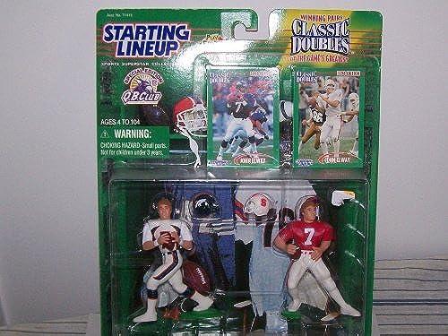 descuento de ventas en línea Starting Lineup Lineup Lineup 1998 Classic Doubles John Elway by STARTING LINEUP CLASSIC DOUBLES JOHN ELWAY  buen precio