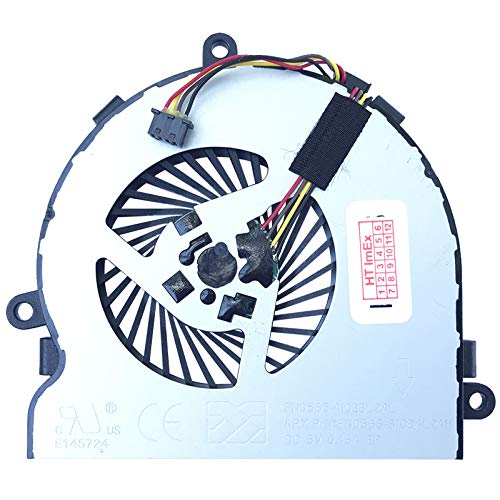 (4 pins) Lüfter/Kühler Fan kompatibel mit HP 250 G4 (N0Z86EA), 250 G4 (P5T03ES), 250 G4 (X0P11ES), 250 G4 (N0Z90EA), 250 G4 (P5T75EA)