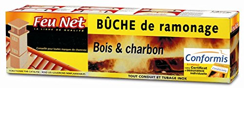 FEUNET 150 Nettoyant cheminée & Anti suie, incolore, Taille Unique