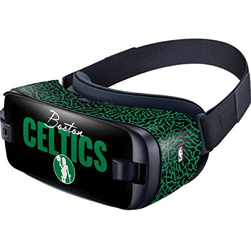 Skinit Decal Other Skin Compatible with Samsung Gear VR (2016) - Officially Licensed NBA Boston Celtics Elephant Print Design