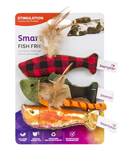 SmartyKat, Catnip Caves, Catnip Infused Paper Bags, Interactive Cat Toys, Pure, Potent, Rustling, Set of 2