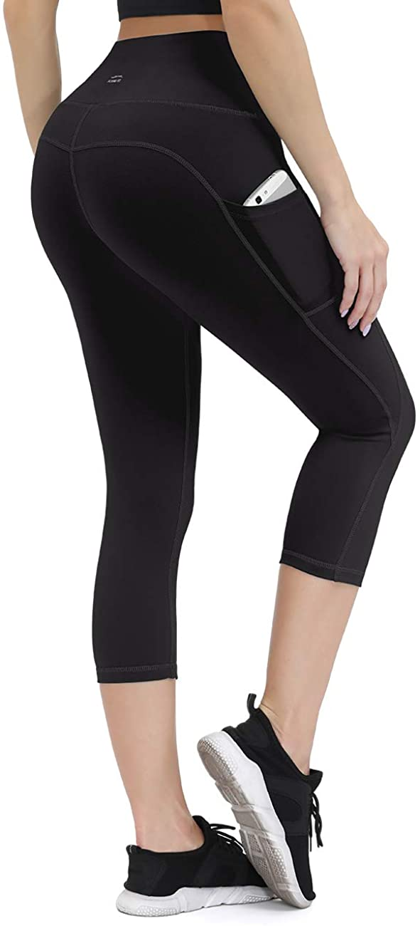 ALONG FIT Yoga Pants for Women with Pockets, Compression Workout