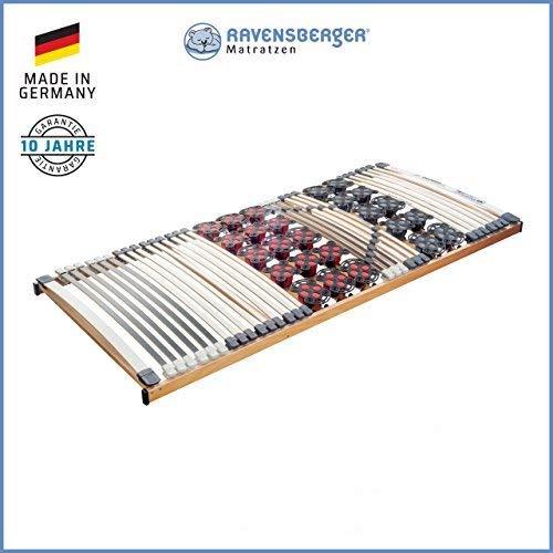 Ravensberger Matratzen DUOMED Lattenrahmen in verschiedenen Größen (140 x 200 cm, Buche Starr)