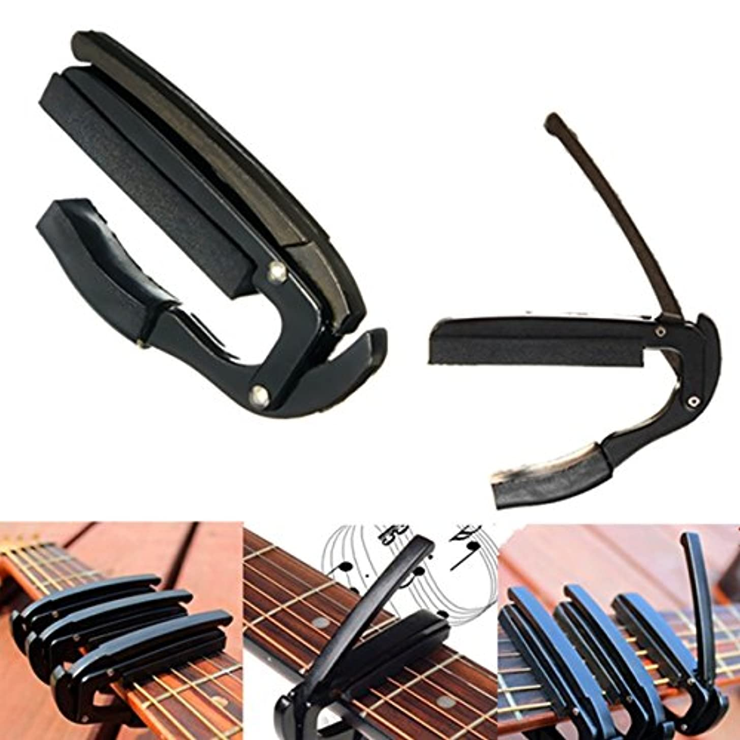 New Quick Release Trigger Capo Clamp Metal for Acoustic Electric Guitar Ukulele